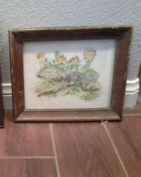 Antique mid century art frame  Las Vegas, 89149