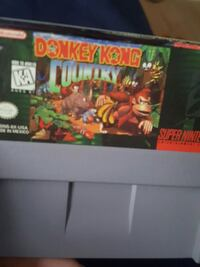 Donkey Kong Country For Super Nintendo  Elgin, 60120