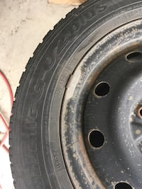 Steel Rims and winter tires