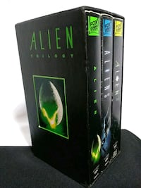 ALIEN TRILOGY COLLECTOR'S BOX SET -SCARY!! *VHS* Box Set Franklin Township, 08873