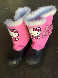 Hello Kitty snow boots for girl - size 11 Thousand Oaks, 91361