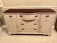 Duncan Phyfe bow front federal style buffet 35 km