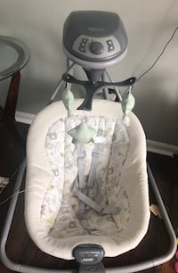 Grace baby swing, gently used. Purchased brand new, smoke free home.  Barely used it Virginia Beach, 23456
