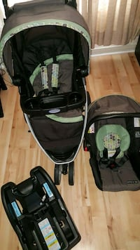 Stroller and infant Cae seat Graco Montgomery, 36116