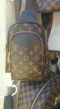 brown and black monogram Louis Vuitton backpack Bakersfield, 93306