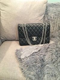 Chanel Vintage Flap Bag Black San Jose