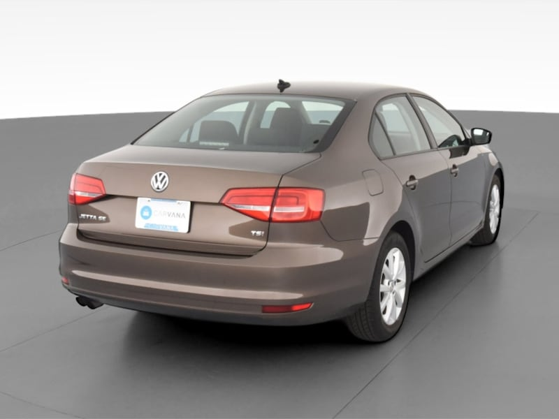 2015 VW Volkswagen Jetta sedan 1.8T SE Sedan 4D Brown  1091dffe-1344-44af-9507-cfeb8ee7c07d
