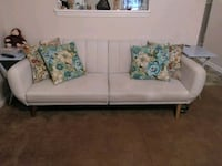 Off white fabric sofa or best offer Jacksonville, 28546