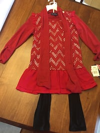 Girls size xl long sleeve NWT outfit  Sterling Heights, 48312