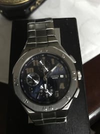 Guess  silver watch in good shape(men's) Surrey, V3S 0T9