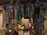 Youth Hunting Gear - worn once-like new GREAT DEAL! Louisburg, 66053
