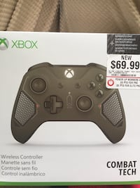 black Xbox One wireless controller box Woodbridge, 22191