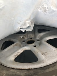 Rav4 silver steel wheels with sensor Winnipeg, R3Y