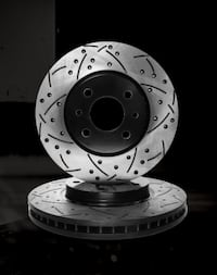 CROSS DRILLED & SLOTTED BRAKE ROTORS -ALL MAKES & MODELS Newmarket
