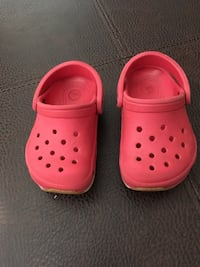 Toddler size 4 Crocs Sparks, 89431