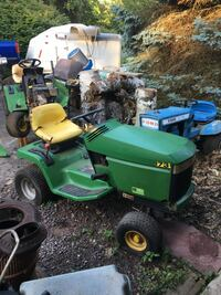3 tractors two John deer. Lx173 one runs I know other for parts I was told it ran  the ford is1972 it runs but sat too long , theymust go $250 or best offer.I also have a 38 inch deck for the John Deer , only one deck . Royersford, 19460
