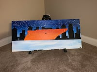 Tennessee hand-painted wall art Smyrna, 37167
