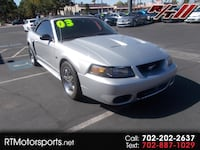 2003 Ford Mustang GT Deluxe Convertible Las Vegas