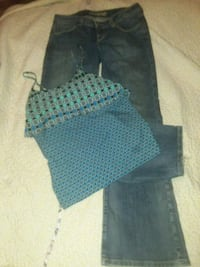 Blue jeans and top Auburn, 46706