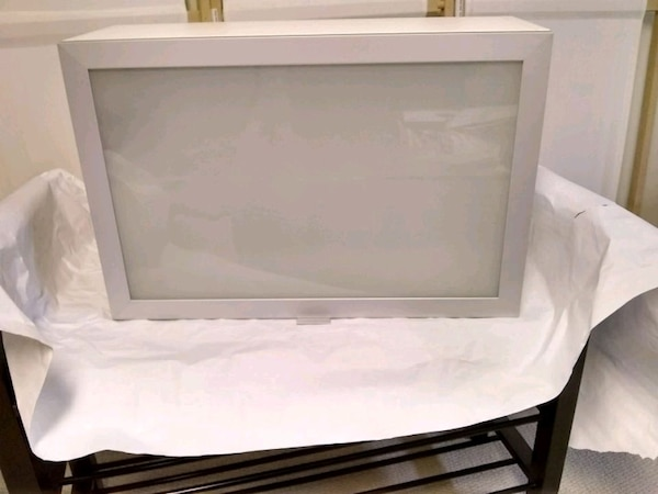 Brand new IKEA wall cabinet with glass door