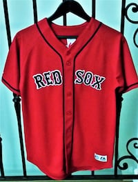Boston Red Sox Jersey EUC, Worn Once (Boys Size XL) Hermosa Beach