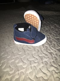 52c0045fbf3a Used Blue baby vans size 3 for sale in San Jose - letgo