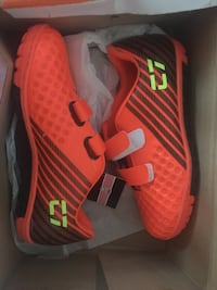 pair of red Nike basketball shoes with box Bristol, BS15 3BY