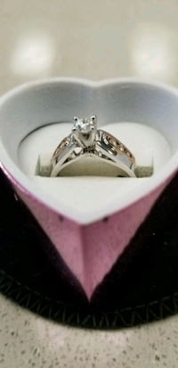 14K White Gold And Rose Gold Ring  Edmonton, T6E 2A7