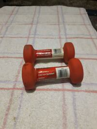 2 lb cast iron dumbbells Toronto, M9C 2N2