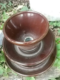 Old vintage insulator....flower pot Winnipeg, R2H 0X8