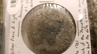 1756 Silver piece of eight from shipwreck New Braunfels, 78130