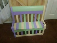 Childs Bench Real wood. Hand made Wesley Chapel
