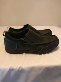 dr. Scholl's slip on black leather men's shoes size 12 Concord, 28027
