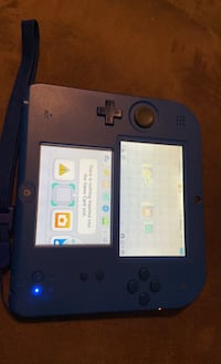 Nintendo 2DS with extras