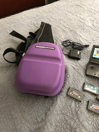 Game boy Advance SP with games and charger, plus carrying case. Klamath Falls, 97603