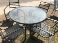 patio table and 4 chairs North Las Vegas, 89030