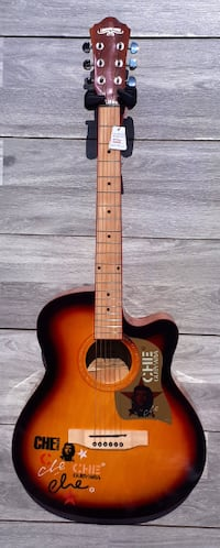 Sunburst acoustic guitar brand new Toronto