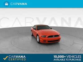 2014 Ford Mustang Convertible V6 Convertible 2D RED