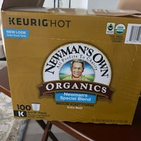 Newman's Own Organic Extra Bold Coffee, Special Blend, 80 K-Cup Pod Upper Marlboro, 20774