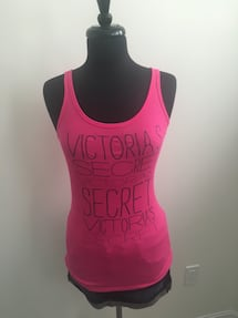 New pink Victoria's Secret tank size M