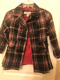brown and white plaid button-up jacket Southfield, 48034