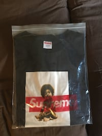 SUPREME X BAD BOY RECORDS TEE (Large) Pickering, L1V 3W4