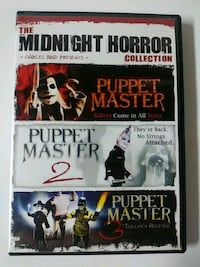 Puppet Master 1,2, and 3 dvd