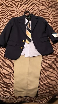 Brand new suit size 24 month