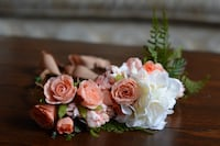 Faux flower crown - handmade with care. Perfect for special occasions. Toronto, M6M 2X3