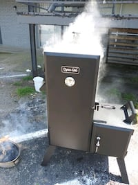 Dyna-glo smoker has been used 1 time