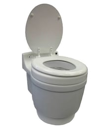 Laveo Dry Flush Toilet RV / Boat / Tiny Home  Edison