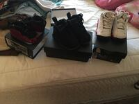 two pairs of black Air Jordan basketball shoes Duquesne, 15110