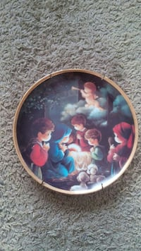 Precious Moments collectible Christmas plate Overland Park, 66204