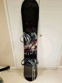 black and gray snowboard with bindings Rockville, 20850